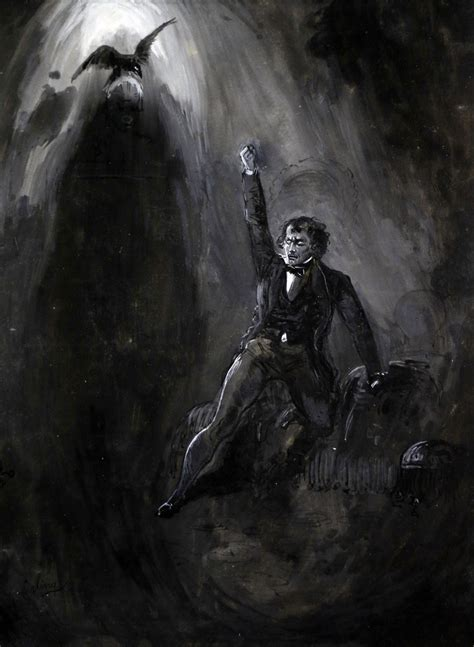 """Ten Days Left To Save """"stormier, Wilder And More Weird"""" Illustrations For """"the Raven"""