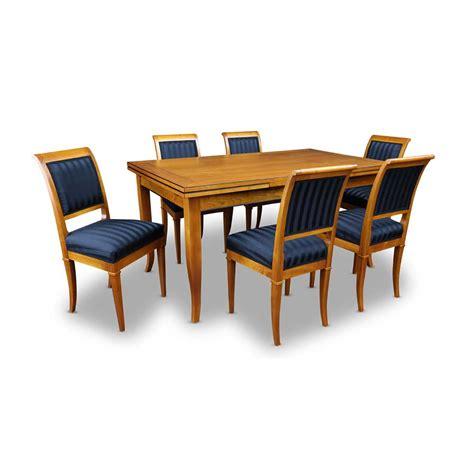 Esstisch Mit 6 Stühlen Im Biedermeierstil Bei Stilwohnen