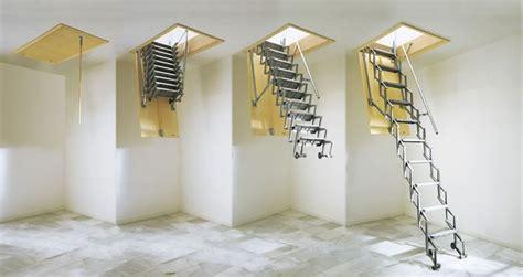 scala estensibile da soffitta scale retrattili a parete scale