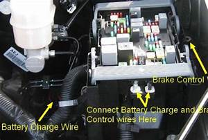 Troubleshooting No Power On Brake Controller After Install