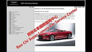 Aston Martin Dbs Workshop Manual  Service Manual  Repair