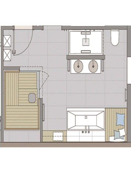 Bad Mit Sauna Grundriss by Badezimmer Sauna Ideen