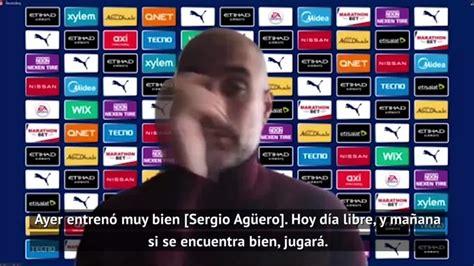 Guardiola heaps praise on Aguero: Sergio is unique | MARCA ...