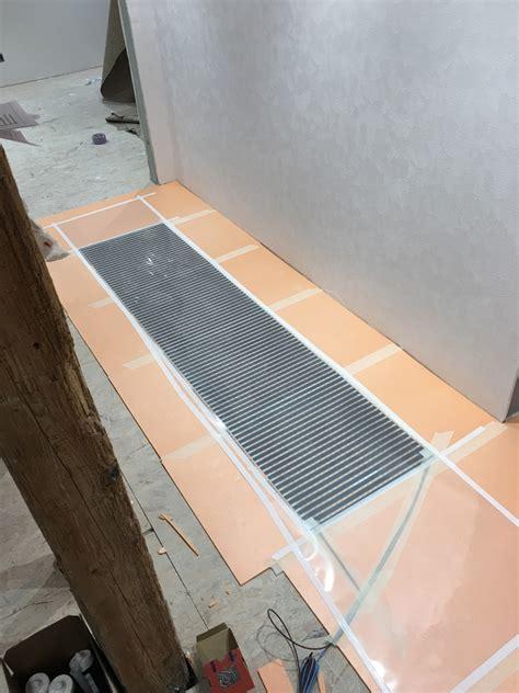 carrelage chauffage au sol carrelage chauffage au sol finest parquet sur chauffage au sol mulhouse parquet sur chauffage