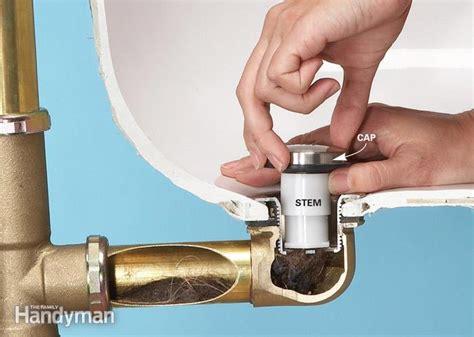 unclog  bathtub drain  chemicals  family handyman