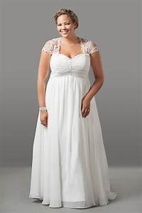 20 modern plus size wedding dresses magment for Best wedding dresses for plus size
