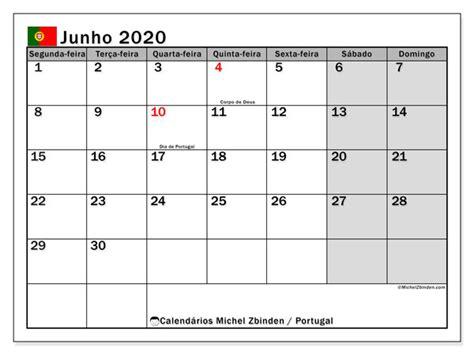 calendario junho portugal michel zbinden pt