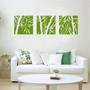 Bamboo wall decalsbamboo wall decalbamboo wall art for Bamboo wall art