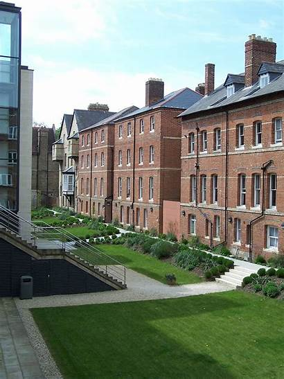 Oxford Anne College St University Bevington Rear