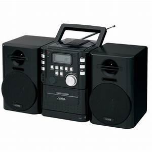 Radio Cd Kassette : jensen portable cd music system with cassette and fm ~ Jslefanu.com Haus und Dekorationen