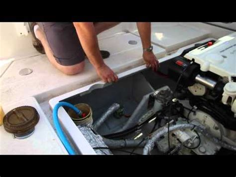 How To Winterize A Glastron Jet Boat by 1978 Glastron Boat With Mercruiser 470 I O Motor Running