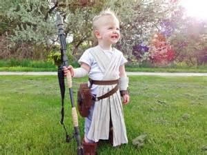 Rey Star Wars Costume Homemade