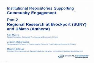IRs Supporting Community Engagement, Part 2: Regional ...