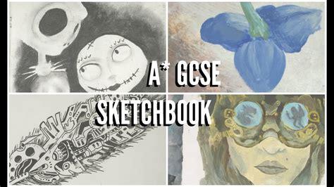 Gcse Art Sketchbook Exam Prep Fantastic Strange