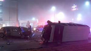 Man in critical condition after head-on collision downtown ...