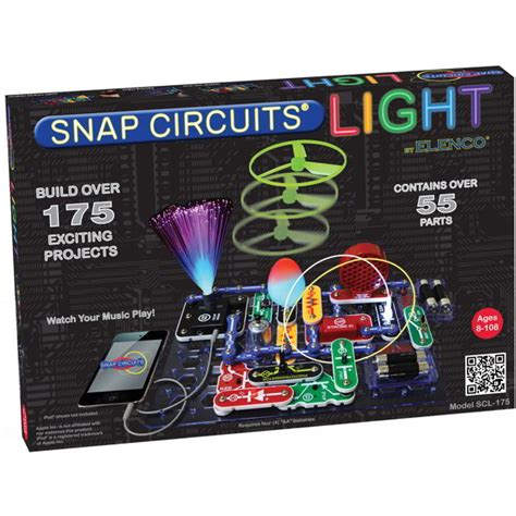 Snap Circuits Light Set With Illuminating Electronic