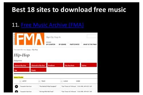best website to download music and videos