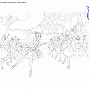 Swan lake ballet coloring pages - Hellokids.com