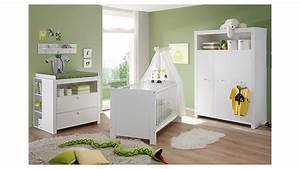 Babyzimmer set olivia kinderzimmer in wei 3 teilig for Babyzimmer 3 teilig