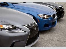 BMW 328i vs Cadillac ATS 20 vs 2014 Lexus IS 250