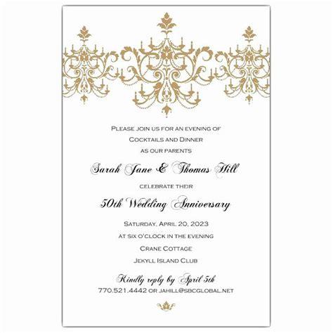 anniversary invitation wording  images