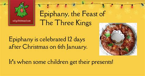 Epiphany, The Feast Of The Three Kings -- Christmas