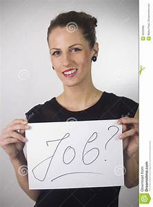 UNEMPLOYED WOMAN Stock Photo - Image: 30322680