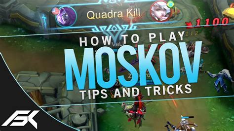 Mobile Legends How To Play Moskov  Mobile Legends Tips