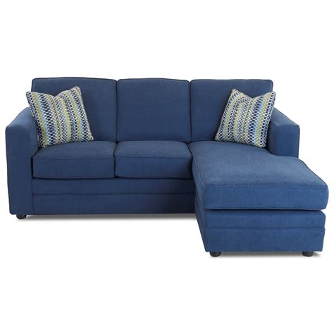 Air Sleeper Sofa by Klaussner Berger Chaise Sleeper Sofa With Size Air