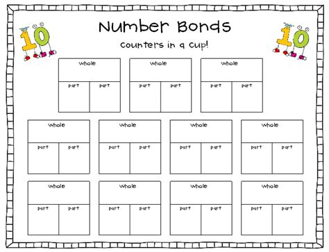 Free Bonds To 10 And 20 Coloring Pages