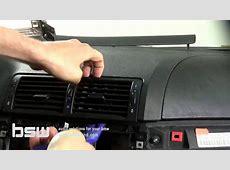 BMW E46 instalacion pantalla doble din parte 1 YouTube