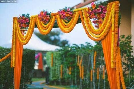 marigold wedding ideas  pinterest indian