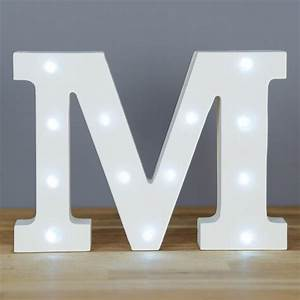 light up letter m home decor barbours With lighted letter m