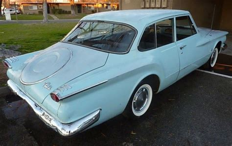Excessive Or Distinctive? 1961 Plymouth Valiant