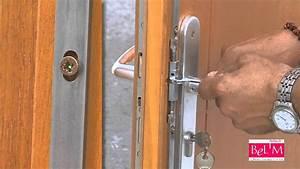 Reglage d39un raidisseur de porte d39entree par bel39m youtube for Porte d entrée pvc en utilisant fermeture pvc
