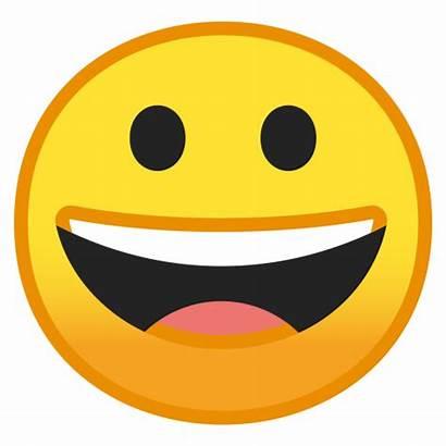 Face Grinning Icon Emoji Google Smileys Noto