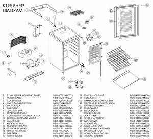 34 Danby Kegerator Parts Diagram