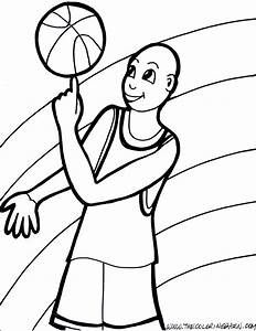Basketball Teams Coloring Pages 4 Free Printable