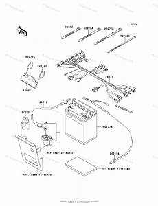 Kawasaki Atv 2008 Oem Parts Diagram For Chassis Electrical Equipment