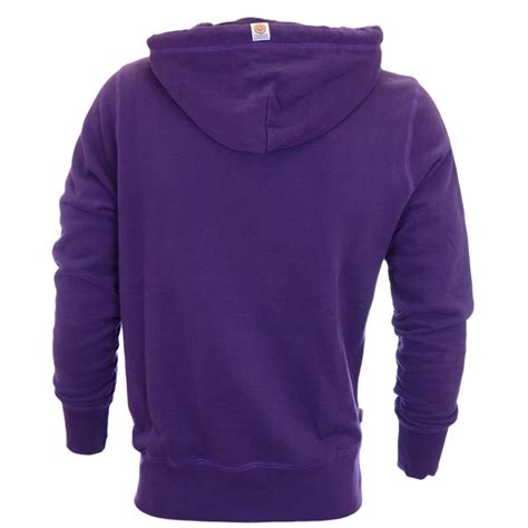 Hoodie Purple franklin marshall arch logo la purple hoodie franklin