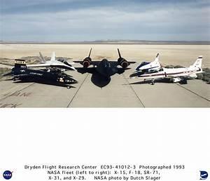 Fleet EC93-41012-3: Dryden Research Aircraft Fleet on Ramp ...