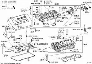 Toyota C-hr Engine Cylinder Head