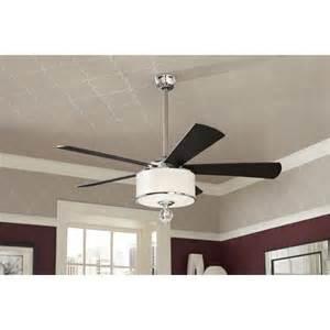 shop allen roth harbor 52 in polished chrome indoor downrod mount ceiling fan