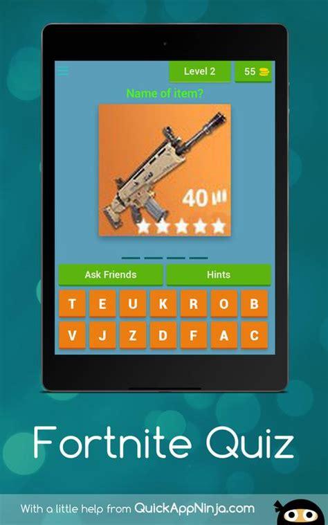 fortnite quiz  android apk