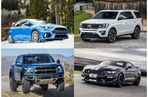 16 Best Ford Cars, Trucks, And Suvs