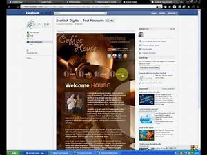 how to create facebook template quotmicrositequot using iframes With free microsite templates