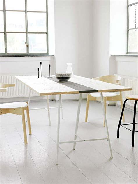 treteau bureau ikea 39 idées déco de tréteaux pour créer une table ou un bureau