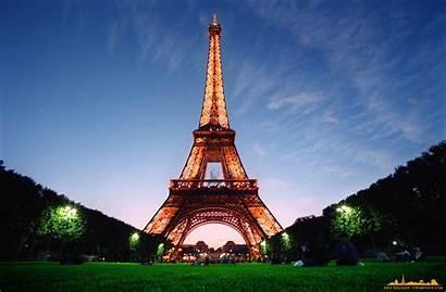 Eiffel Tower Paris France Places Tour Science