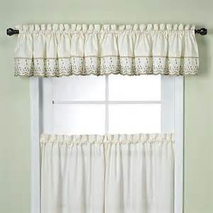 buy kitchen valances from bed bath beyond