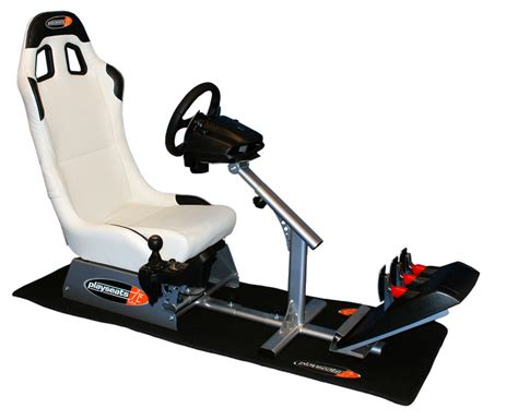 siege simulateur de conduite thegamersroom playseat evolution white